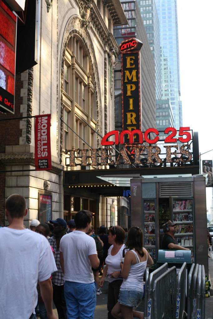 AMC's highest grossing movie theater is on 42nd Street, brokered by David Firestein, who oversees the Northeast for The Shopping Center Group.