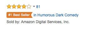 best seller tag dark comedy